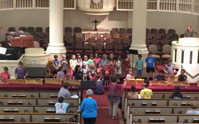 Children's Choir and Kick-Off August 16