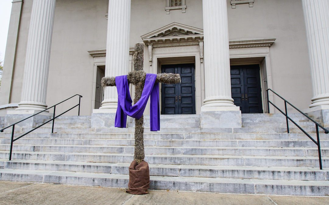 Holy Week and Easter at First Baptist